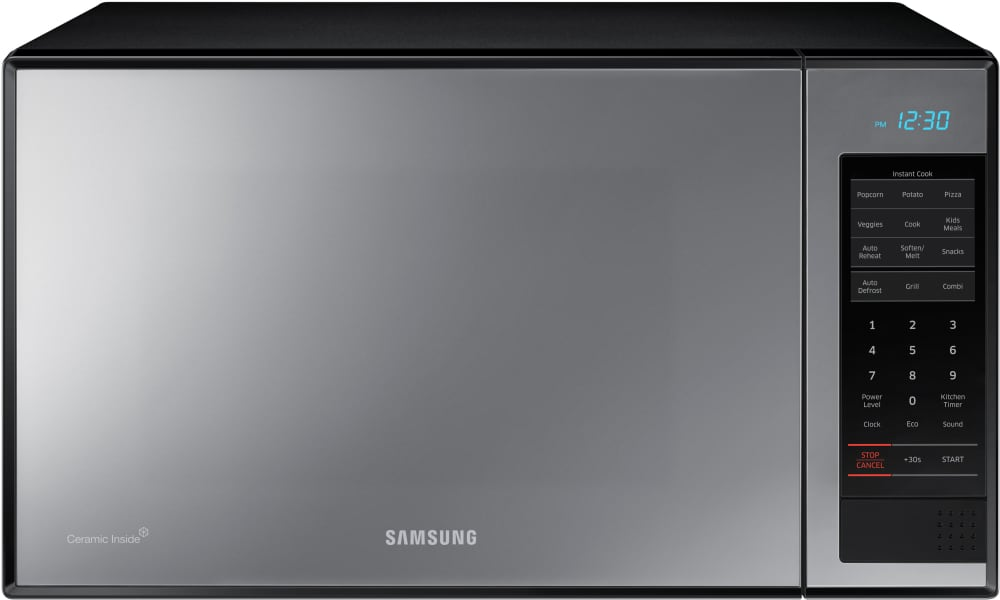 samsung triple distribution system microwave oven instructions