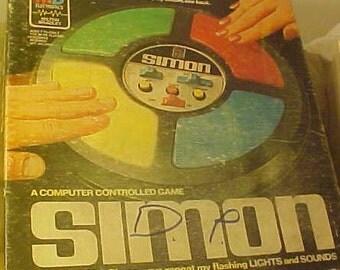simon says electronic game instructions