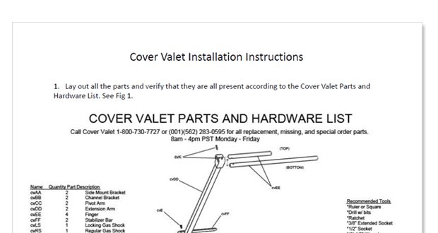 spa cover lift installation instructions