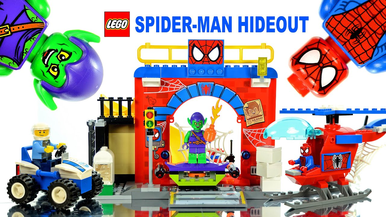 spiderman lego instructions 10687