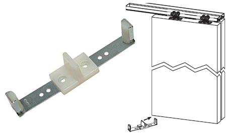 stanley pocket door latch instructions