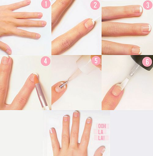 step by step nail art instructions with pictures