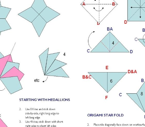 tea bag folding instructions