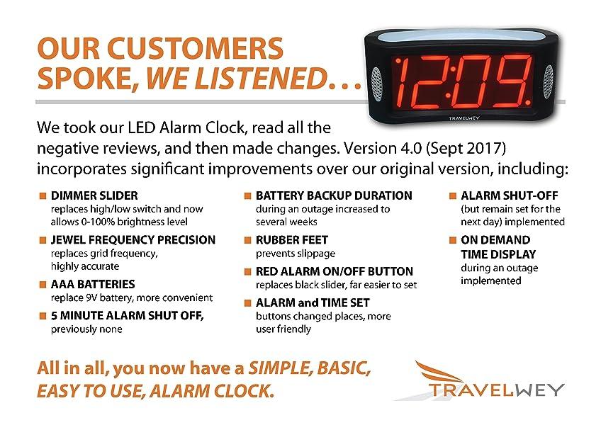 travelwey alarm clock instructions