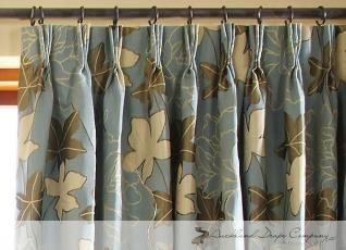 triple pleat curtains instructions