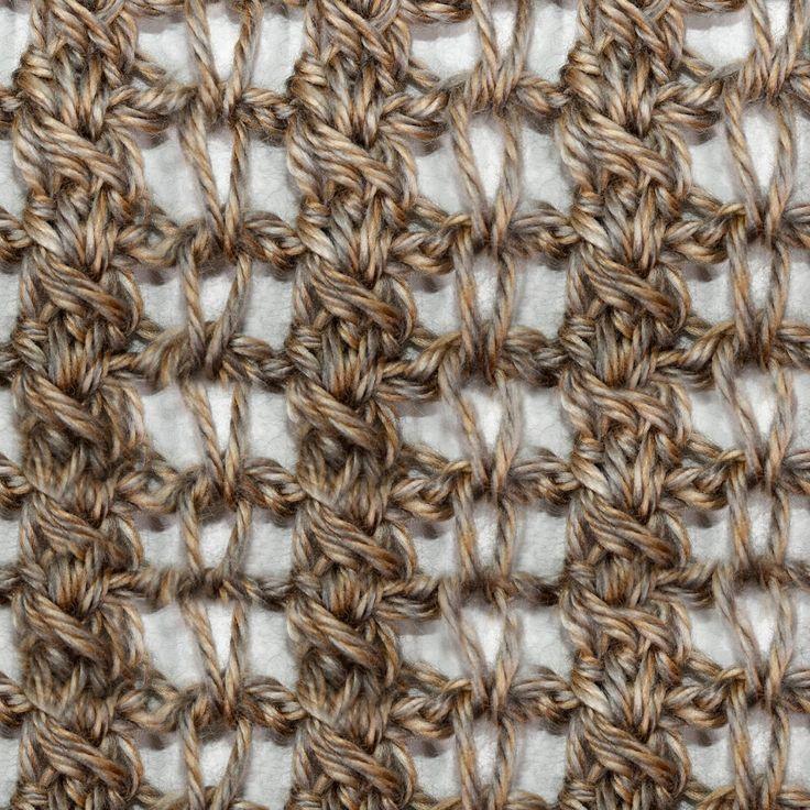tunisian crochet instructions youtube