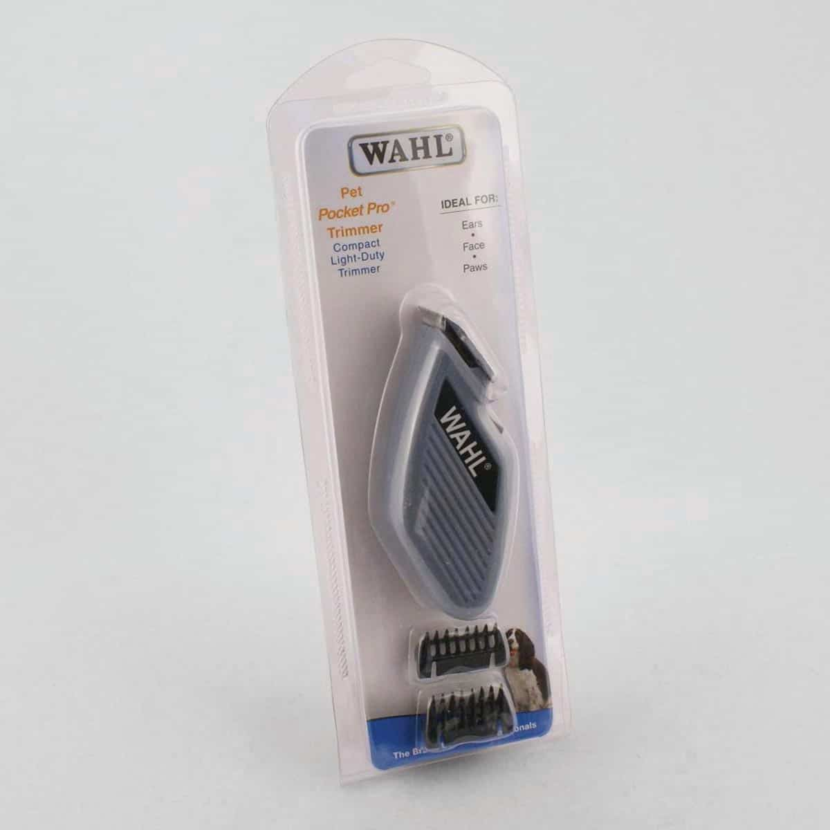 wahl pocket pro trimmer instructions
