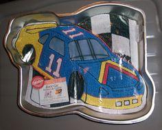 wilton car cake pan instructions